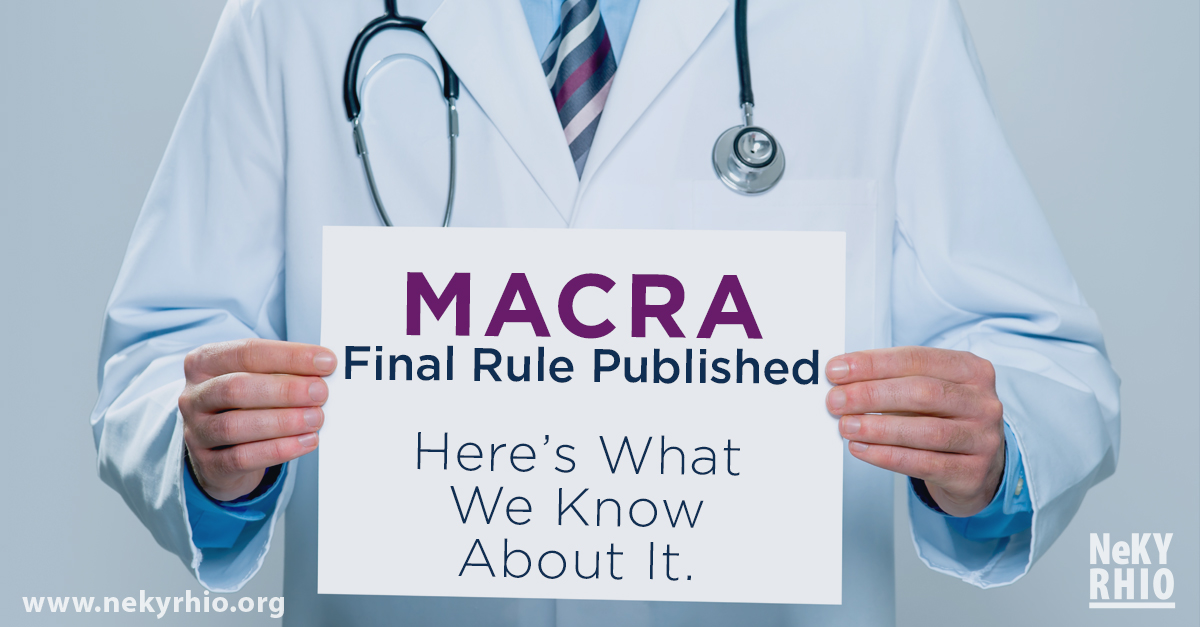 MACRA Final Rule Published – And here's what we know about it!