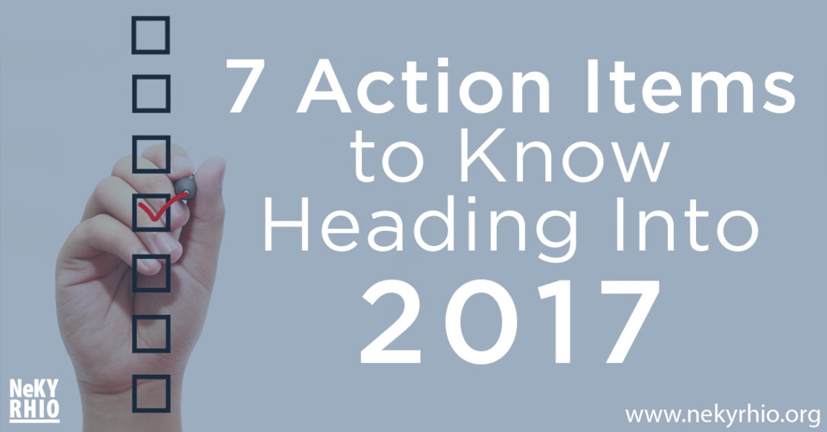 7 Action Items for 2017 - Blog