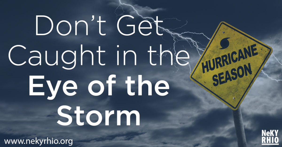 Don't Get Caught in the Eye of the Storm